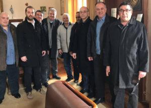 Κλιμάκιο ΝΔ - Επίσκεψη στην Κύμη